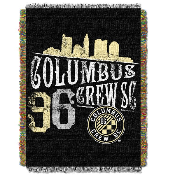 MLS 051 Columbus Crew Handmade Throw