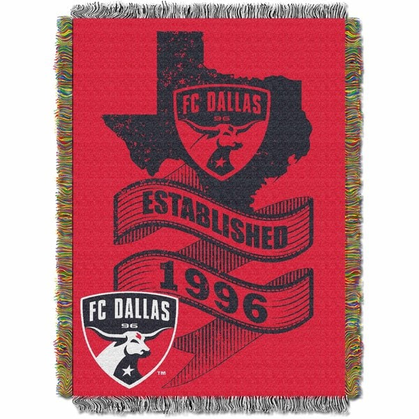 MLS 051 Dallas FC Handmade Throw