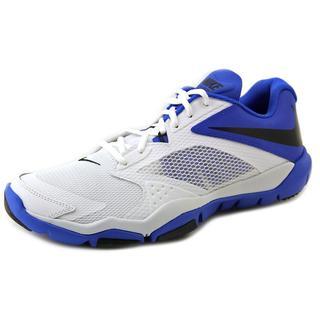 Nike Men's Flex Supreme TR 3 White Mesh Athletic Shoes