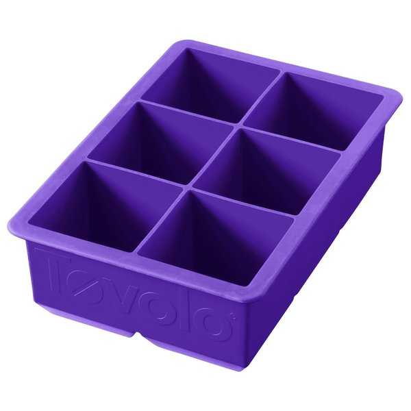 Tovolo Vivid Vioetl King Cube Ice Tray