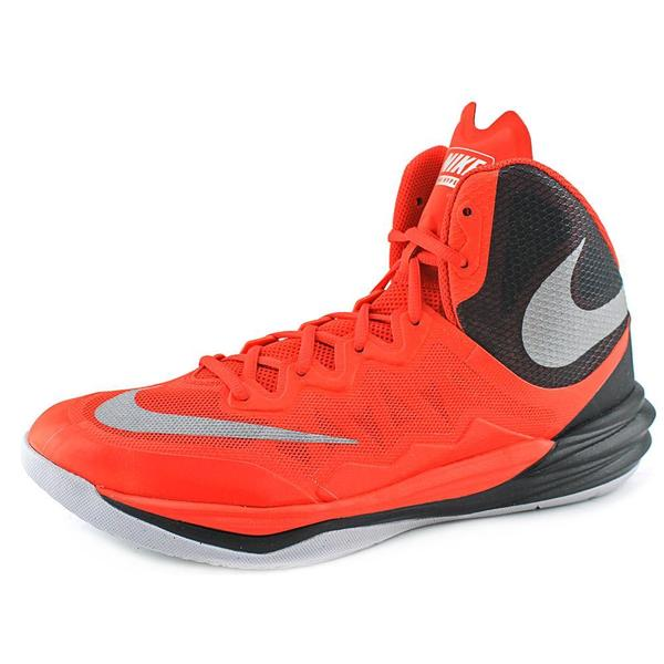 Nike Men's Prime Hype II Red Synthetic Athletic