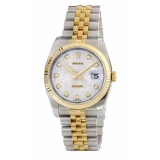 Rolex Women's m116233-0156 Datejust White Watch