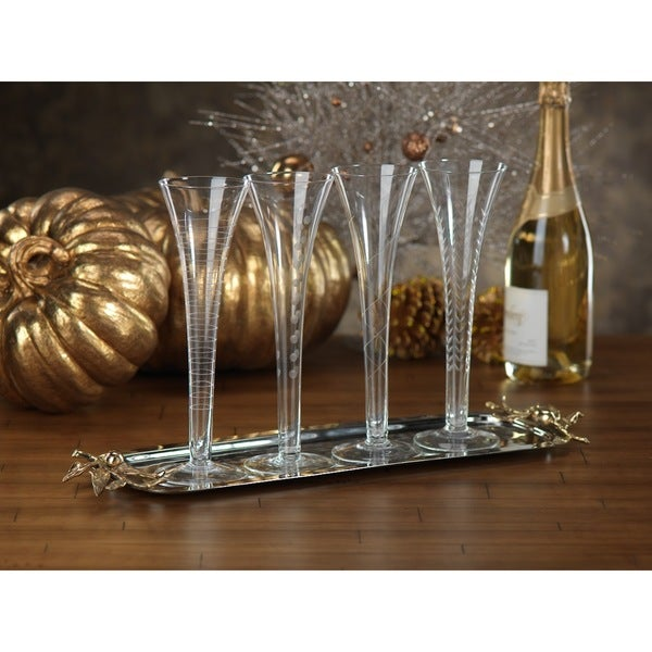 Assorted Champagne Glass Set