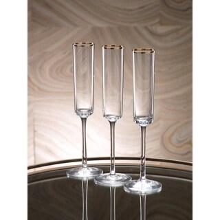 Tall Champagne Glass Set