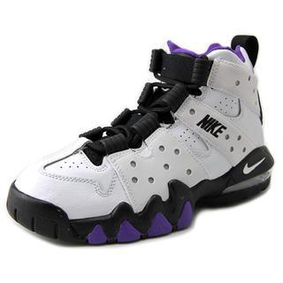 Nike Boys' CB 94 White Leather Athletic Shoes