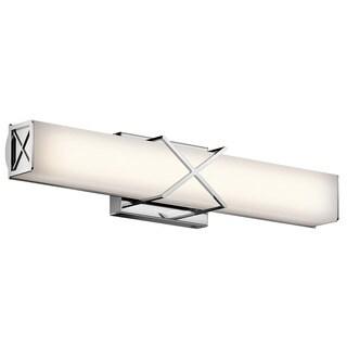 Kichler Lighting Trinsic Collection 2-light Chrome LED Bath/Vanity light