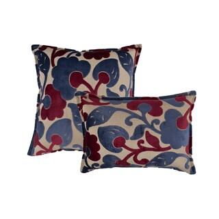 Sherry Kline Bouquet Combo Throw Pillows