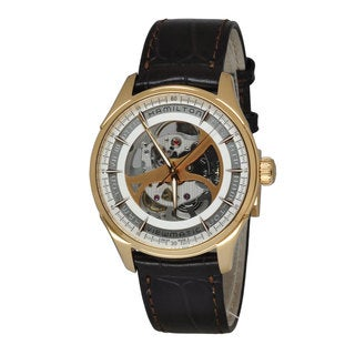 Hamilton Men's H42545551 Jazzmaster Viewmatic White Watch