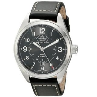 Hamilton Men's H70505733 Khakhi Field Black Watch