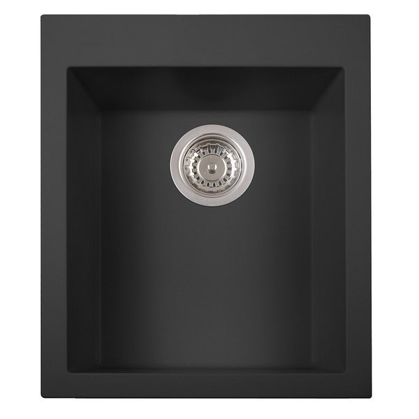 ALFI Drop-in Rectangular Granite Composite Kitchen Prep Sink