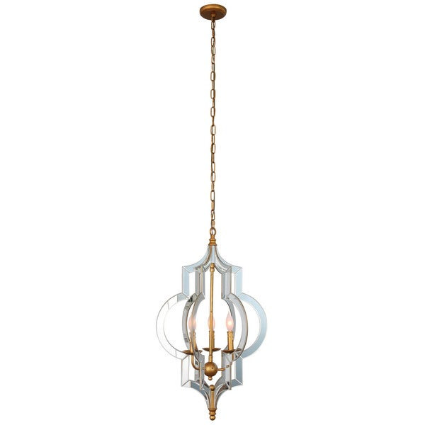 Vertigo Large 30-Inch Mirror Chandelier