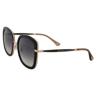 Jimmy Choo Glenn/S QBE9C - Black Grey by Jimmy Choo for Women - 52-23-140 mm Sunglasses