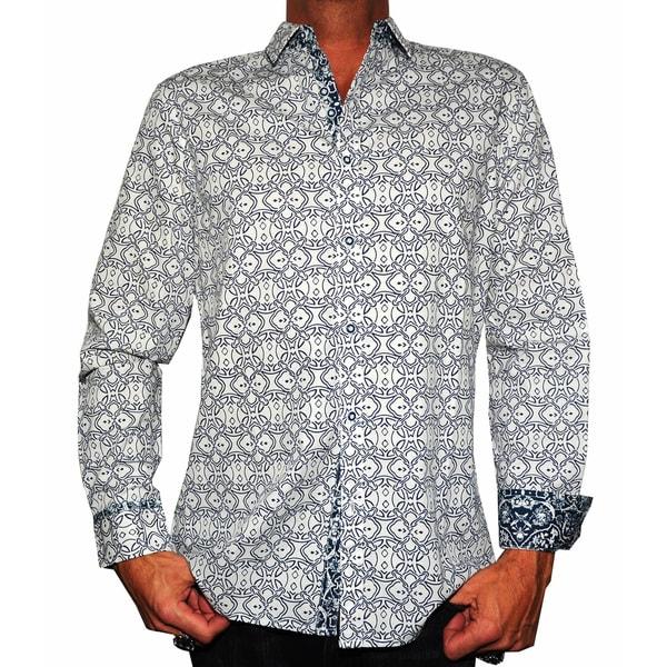 Rock Roll N Soul Men's 'Blue Bayou' Button-up Woven Top