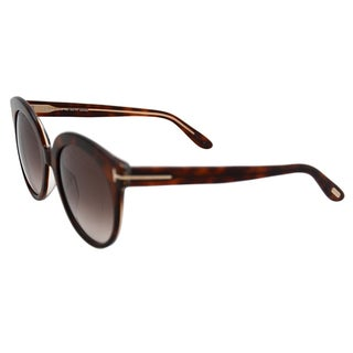 Tom Ford FT0429 Monica 56F - Havana by Tom Ford for Women - 54-20-140 mm Sunglasses