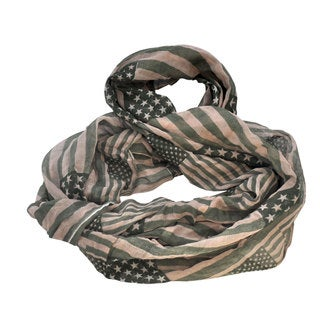 MoDA American Pride Ultra Soft Infinity Scarf