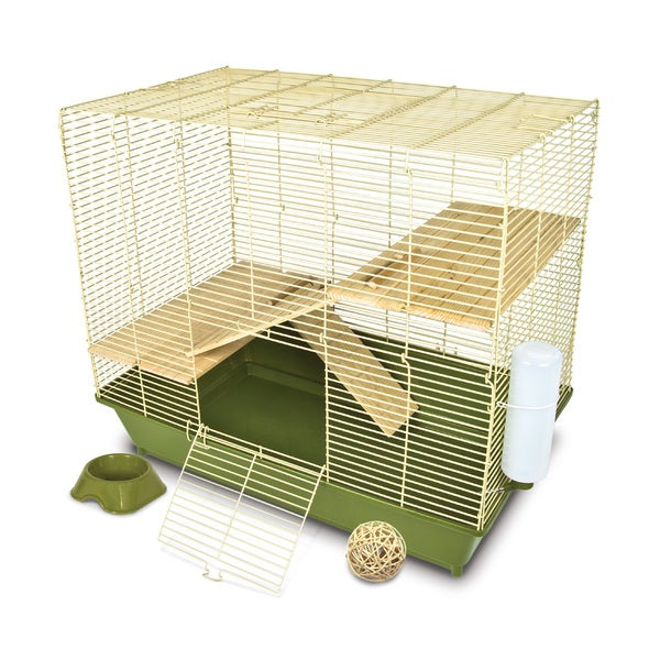 Ware Naturals Wood 28-inch Chinchilla Cage Kit