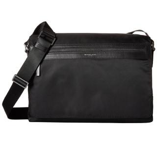 Michael Kors Kent Black Nylon Large Crossbody Messenger Bag