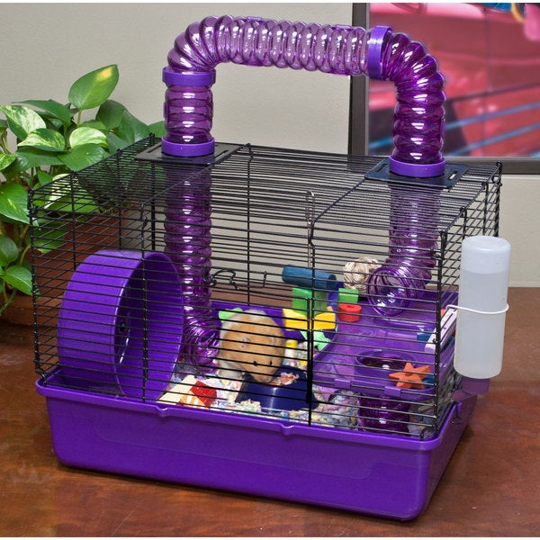 Ware Tube Time 16-inch Hamster Cage