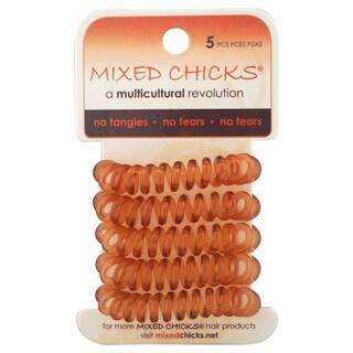 Mixed Chicks 5-piece Spring Bands Light Amber