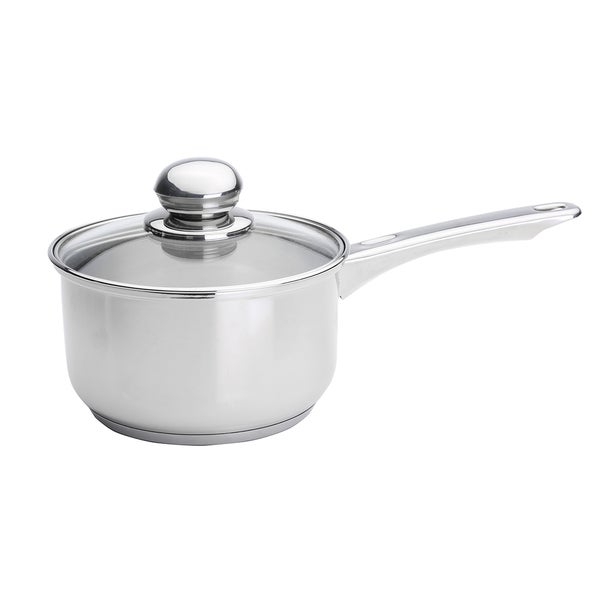 Kinetic GoGreen Classicor Stainless Steel 2-Quart Glass Lid Saucepan
