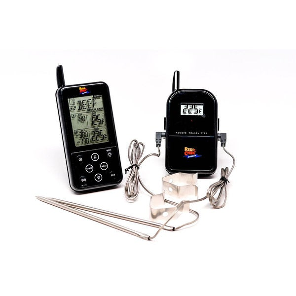Maverick Long Range Wireless Dual Probe BBQ Smoker Meat Thermometer Set