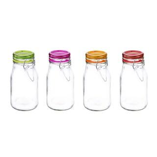 Kinetic GoGreen 5.07-ounce Glass Mini Jar (Pack of 4)
