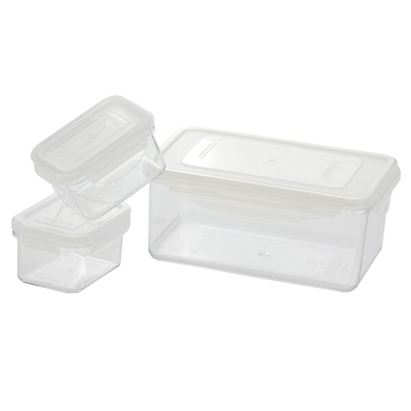 Kinetic GoGreen Tritan 6-Piece Rectangular Lunchbox Set with Lid
