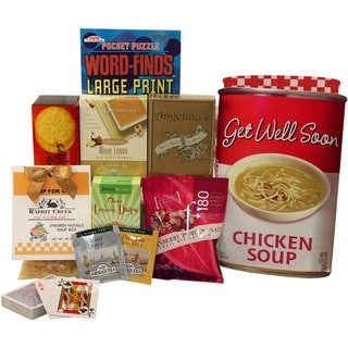 Art of Appreciation Gift Baskets Get Well Soon Chicken Soup Gift Bag Tote