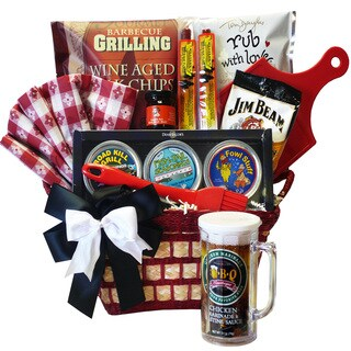 Art of Appreciation Road Kill Grill Meat Rub and Marinade Assorted BBQ Gift Basket Set