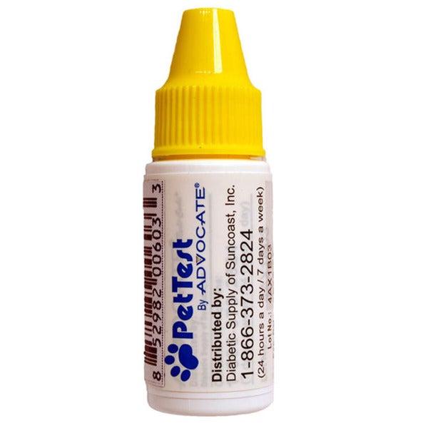 Advocate PetTest Control Solution Level 1 Glucose Test