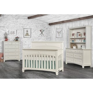 Evolur Santa Fe Collection White Wood Convertible Crib