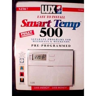 Lux TX500E Smart Temp Programmable Thermostat