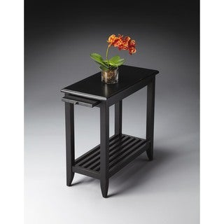Butler Irvine Black Licorice Chairside Table