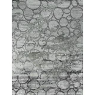 Dallin Grey Viscose Rug (8'11 x 11'9)