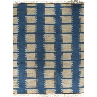 Moroccan Kinsey Blue Rug (9' x 12')