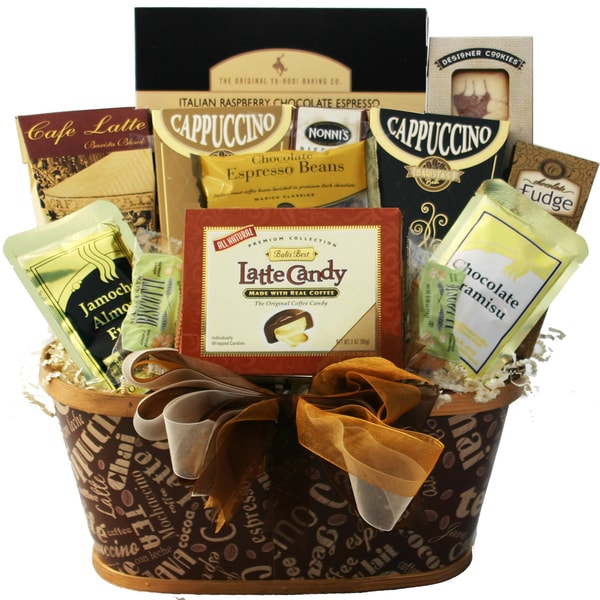 Art of Appreciation Gift Baskets Crazy for Coffee, Gourmet Food, and Snacks Gift Basket