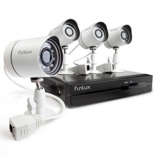Funlux 4-channel 4-camera sPoE NVR System with 1TB HDD