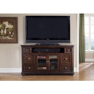 Liberty Kingston Hand Rubbed Cognac TV Console