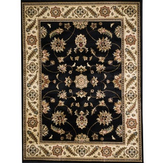 Christopher Knight Home Shaelyn Kendall Floral Border Rug (5' x 8')