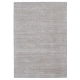 Grand Bazaar Merna Birch/White Polyester/Polypropylene Machine-made Rug (10' x 13'2)