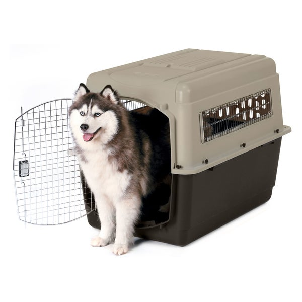 Petmate Ultra Vari Black/Tan Metal Dog Kennel and Crate 19364965