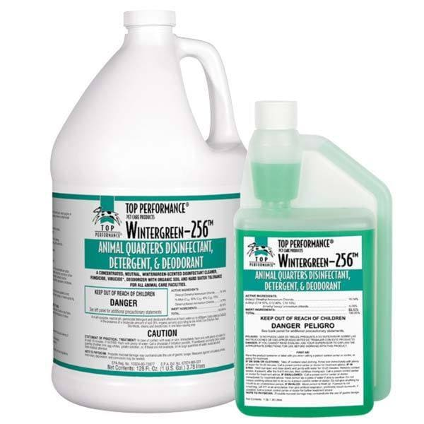 Top Performance 256 Wintergreen 1-gallon Disinfectant Cages and Kennels