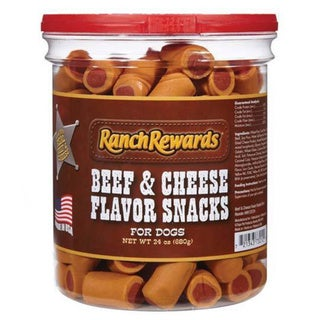 Ranch Rewards Beef and Cheese Flavored Dog Snacks