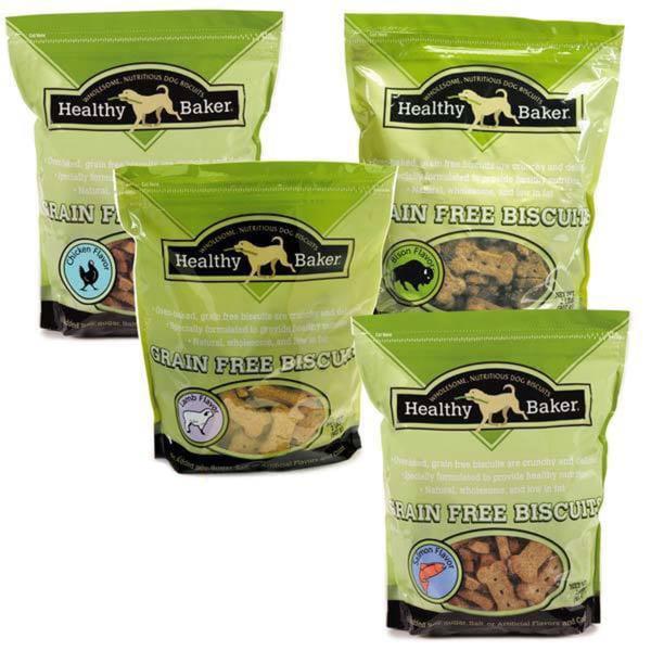 Healthy Baker Grain-free Bison Biscuits