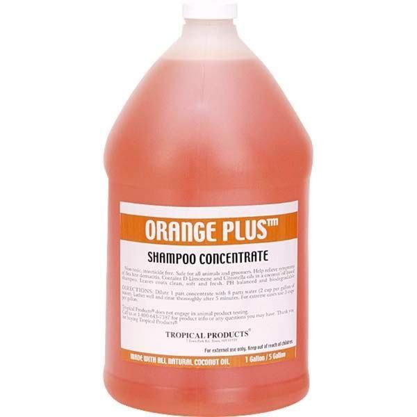 Orange Plus Tropical 1-gallon Animal Shampoo Concentrate