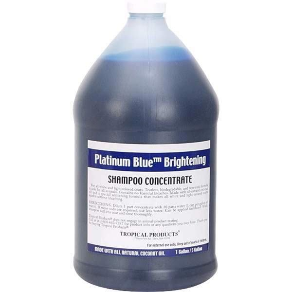 Tropical Platinum Blue Dog and Cat Shampoo