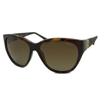 Guess Women's GU7348 Polarized/ Oversize Sunglasses