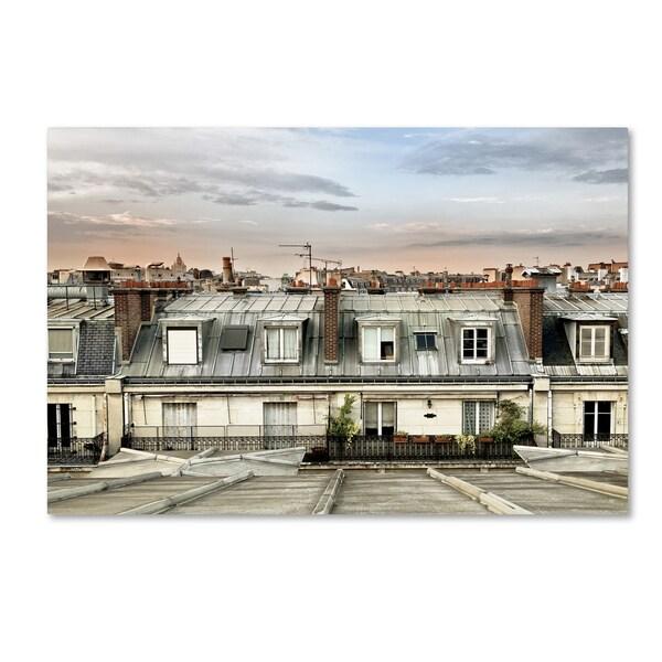 Philippe Hugonnard 'Paris Rooftops' Canvas Art