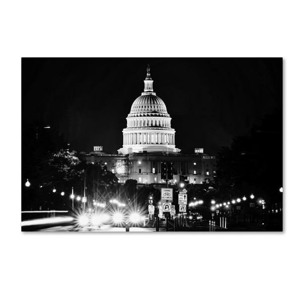 Philippe Hugonnard 'United States Capitol' Canvas Art