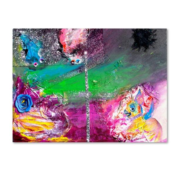 Amanda Rea 'Vertigo' Canvas Art